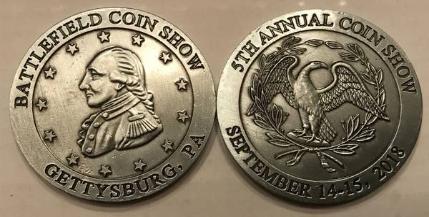 Battlefield Coin Show Medals